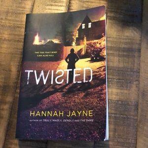 Twisted by Hannah Jayne Book